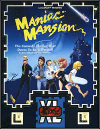 Okładka Maniac Mansion (PC)