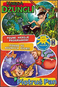 Okładka The Jungle Book, Peter Pan (PC)