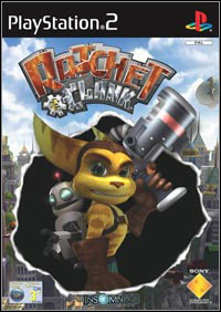 Game Box for Ratchet & Clank (2002) (PS2)