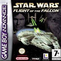 Okładka Star Wars: Flight of the Falcon (GBA)