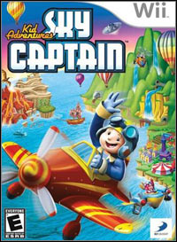 Okładka Kid Adventures: Sky Captain (Wii)