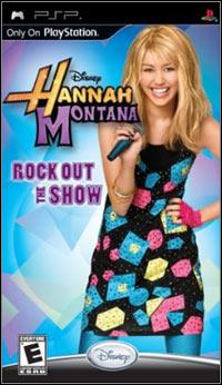 Okładka Hannah Montana: Rock Out The Show (PSP)