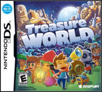 Game Box for Treasure World (NDS)