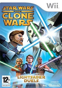 Game Box for Star Wars: The Clone Wars - Lightsaber Duels (Wii)