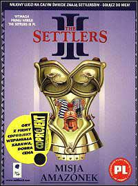 Okładka The Settlers III: Quest of the Amazons (PC)