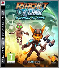 Ratchet & Clank Future: A Crack in Time cover