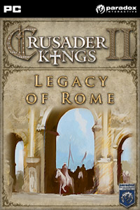 Game Box for Crusader Kings II: Legacy of Rome (PC)