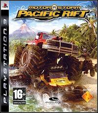 Okładka MotorStorm: Pacific Rift (PS3)