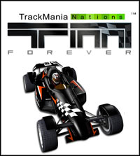 Game Box for Trackmania Nations Forever (PC)