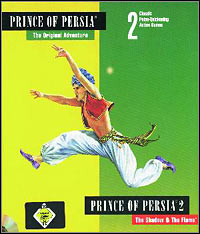 Okładka Prince of Persia 2: The Shadow & The Flame (PC)