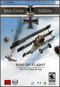 Game Box for Rise of Flight: Iron Cross Edition (PC)