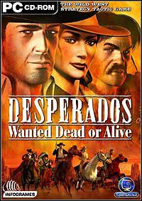 Okładka Desperados: Wanted Dead or Alive (PC)