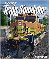 Microsoft Train Simulator (PC cover