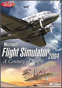 Game Box for Microsoft Flight Simulator 2004: A Century of Flight (PC)
