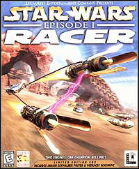 Game Box for Star Wars Episode I: Racer (PC)
