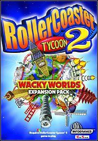 Okładka RollerCoaster Tycoon II: Wacky Worlds (PC)