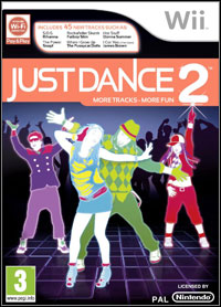 Okładka Just Dance 2 (Wii)
