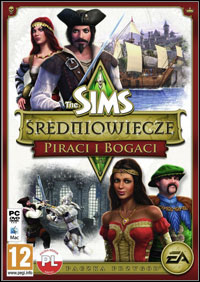 Okładka The Sims: Medieval - Pirates and Nobles (PC)