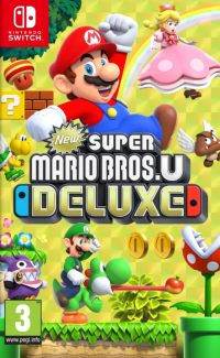 Game Box for New Super Mario Bros. U Deluxe (Switch)