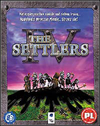Game Box for The Settlers IV (PC)