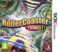 Okładka RollerCoaster Tycoon 3D (3DS)