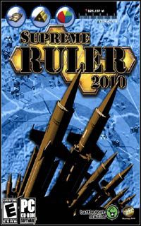 Okładka Supreme Ruler 2010 (PC)