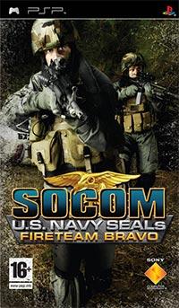 Okładka SOCOM: U.S. Navy SEALs Fireteam Bravo (PSP)