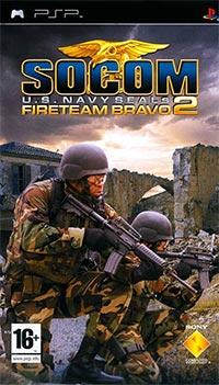 Okładka SOCOM: U.S. Navy SEALs Fireteam Bravo 2 (PSP)