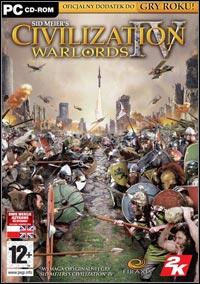 Okładka Sid Meier's Civilization IV: Warlords (PC)