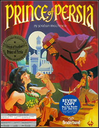 Game Box for Prince of Persia (1989) (PC)