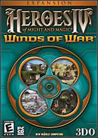 Okładka Heroes of Might and Magic IV: Winds of War (PC)