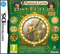 Game Box for Professor Layton and the Lost Future (NDS)