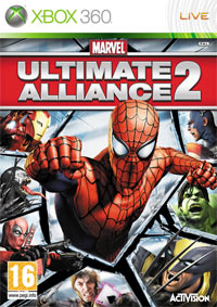 Game Marvel: Ultimate Alliance 2 (PS3) cover