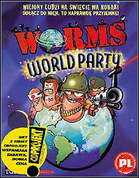 Okładka Worms World Party (PC)