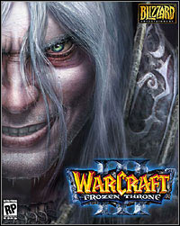 Game Box for Warcraft III: The Frozen Throne (PC)