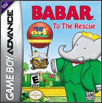 Okładka Babar: To the Rescue (GBA)