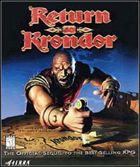 Game Box for Return to Krondor (PC)