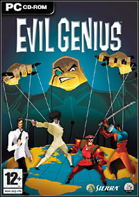 Okładka Evil Genius (PC)