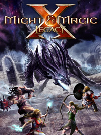 Game Box for Might & Magic X: Legacy (PC)