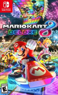 Okładka Mario Kart 8 Deluxe (Switch)