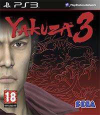 Game Box for Yakuza 3 (PS3)