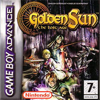 Game Box for Golden Sun: The Lost Age (GBA)