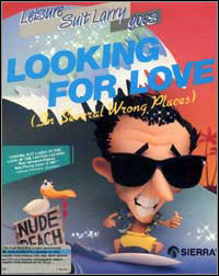 Game Box for Leisure Suit Larry 2: Goes Looking for Love (in Several Wrong Places) (PC)
