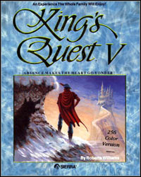 Game Box for King's Quest V: Absence Makes The Heart Go Yonder (PC)