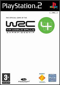 Game Box for WRC 4 (2004) (PS2)
