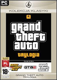 Okładka Grand Theft Auto: Trylogia (PC)