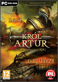 Okładka King Arthur: The Druids (PC)