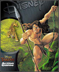 Game Box for Disney's Tarzan: Action Game (PC)