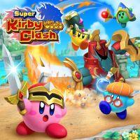 Okładka Super Kirby Clash (Switch)