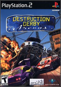 Okładka Destruction Derby Arenas (PS2)